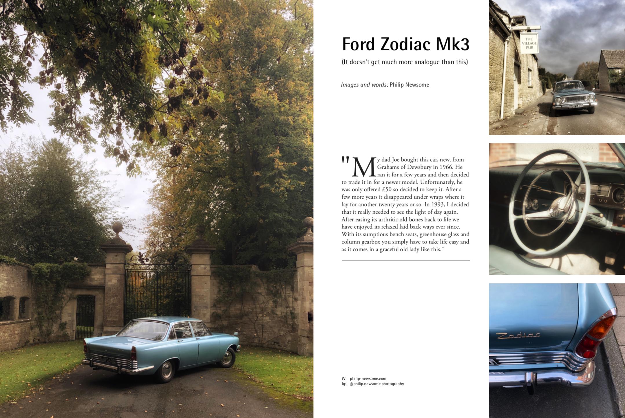 Ford Zodiac Mk 3