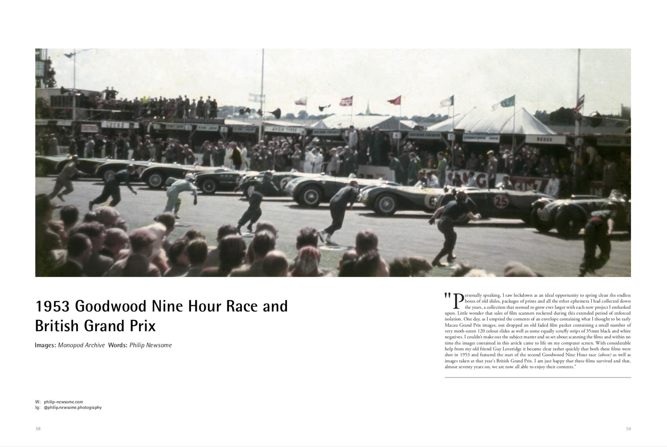 1953 Goodwood 9 Hours