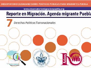 Presentan Séptimo Reporte en Migración en Puebla