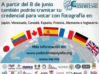 Avance del voto desde el extranjero en el mundo. El caso de Chile