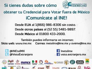 Acercamiento entre INE y organizaciones de mexicanos en el extranjero