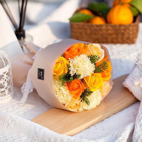 ソープフラワー ボックス アレンジメント ソープフラワーギフト 花 11花束 誕生日 プレゼント 母 女性 女友達 彼女 結婚祝い お祝い ギフト 退職 新築祝