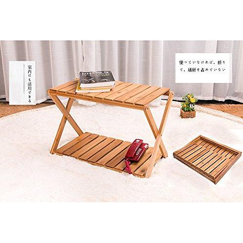 ピクニック 収納棚 竹製 3段ラック