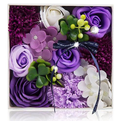 ソープフラワー ボックス アレンジメント ソープフラワーギフト 花 フラワーボックス 誕生日 プレゼント 母 女性 女友達 彼女 結婚祝い お祝い ギフト 退職