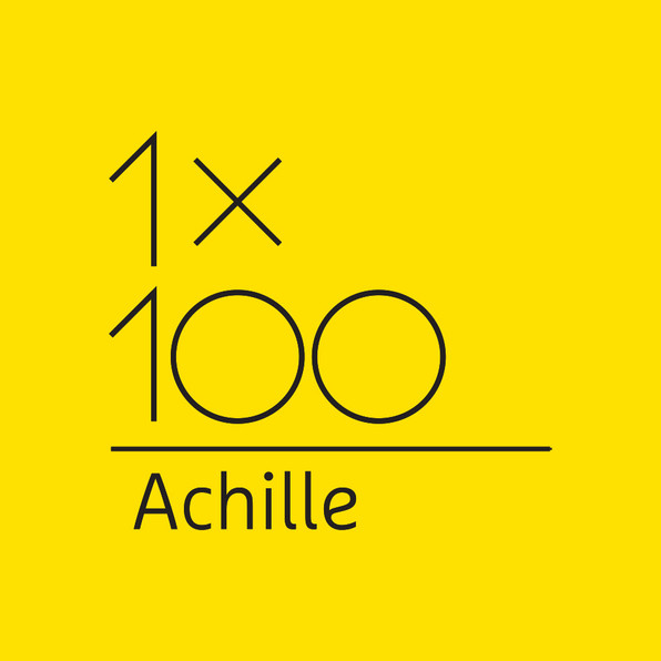 """1x100 ACHILLE""  •  EXHIBIT"