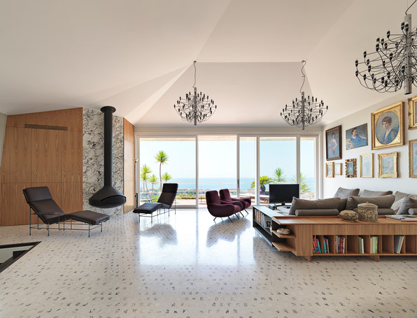 VILLA A BORDIGHERA  •  INTERIORS