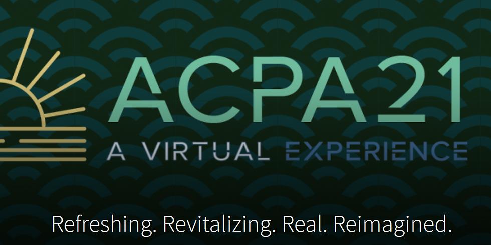 ACPA21 Annual Convention