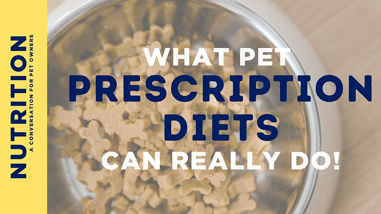 What Prescription Diets Really Do For Your Pet