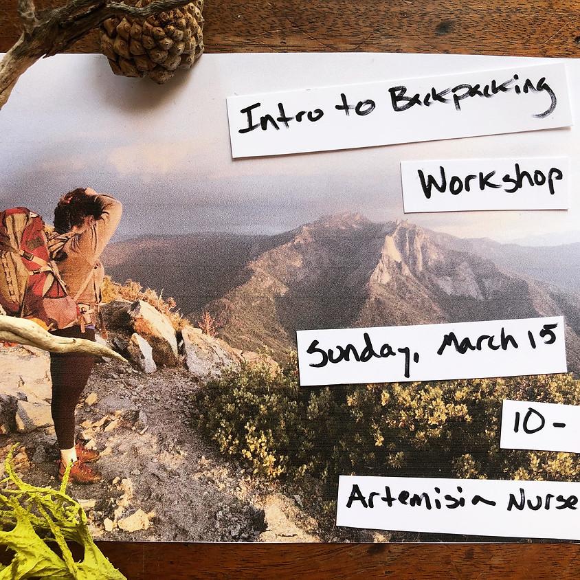 Intro to Backpacking w/ Christina Mesiti