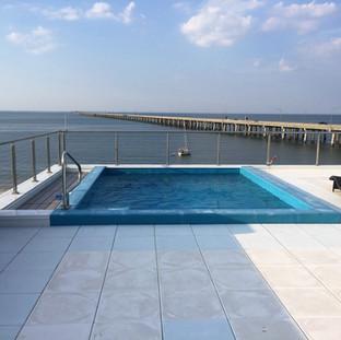Custom Fiberglass Pool