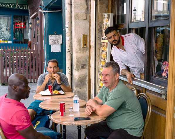 Restaurant Bosphore. Paris, France. 2018.