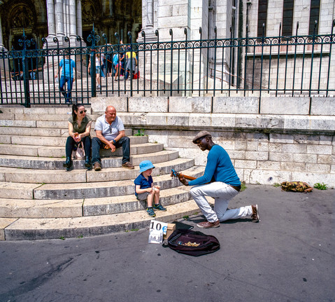 Sacre-Coeur. Montmartre, France. 2018.