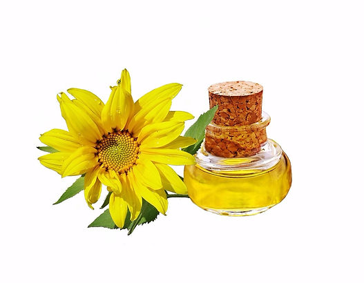 Sunflower oil, sunflower