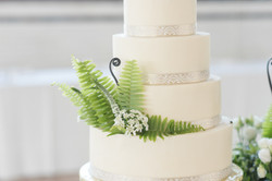 Greenery Wedding Cake