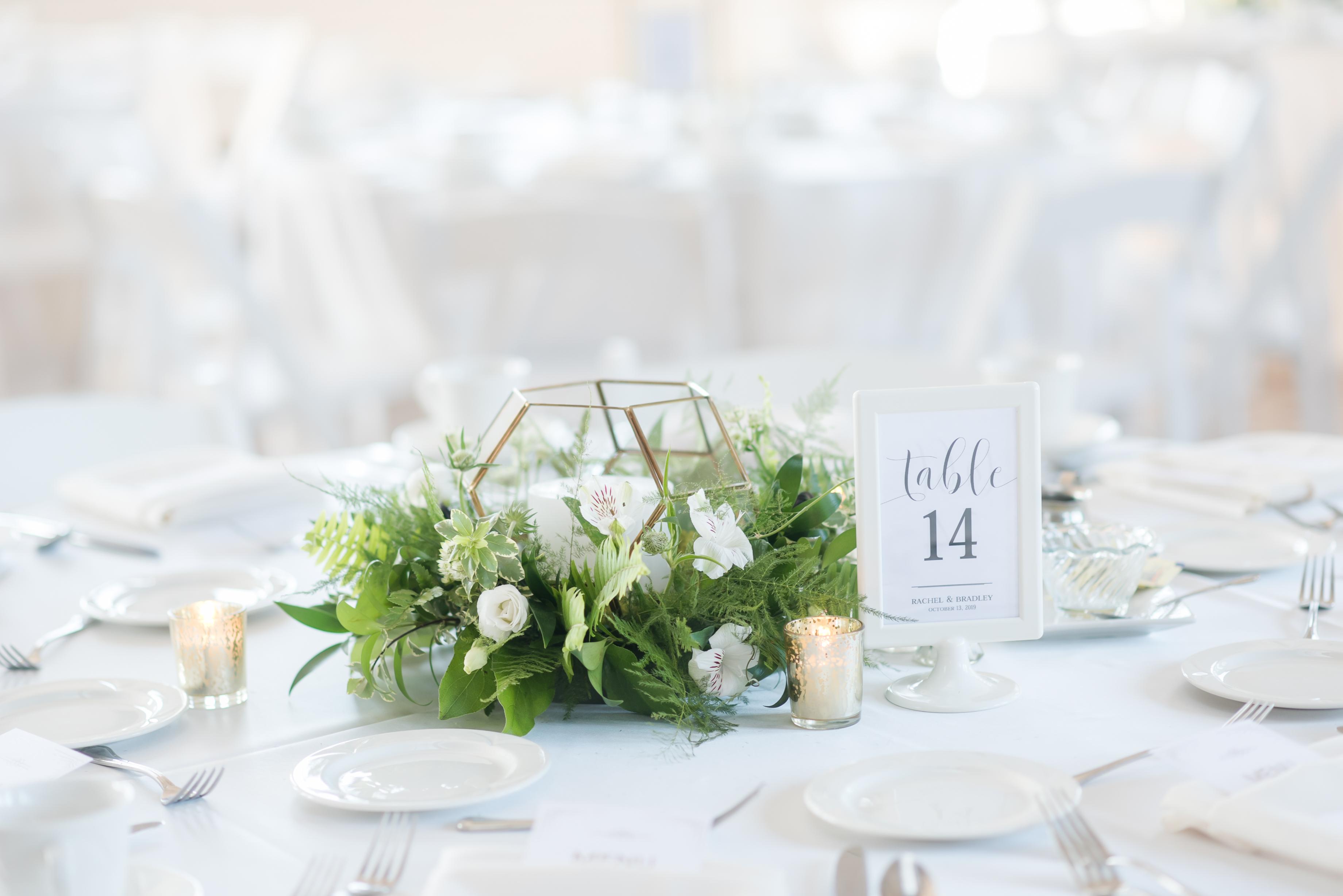 Greenery Wedding Centerpiece