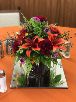 Vibrant Fall Centerpiece