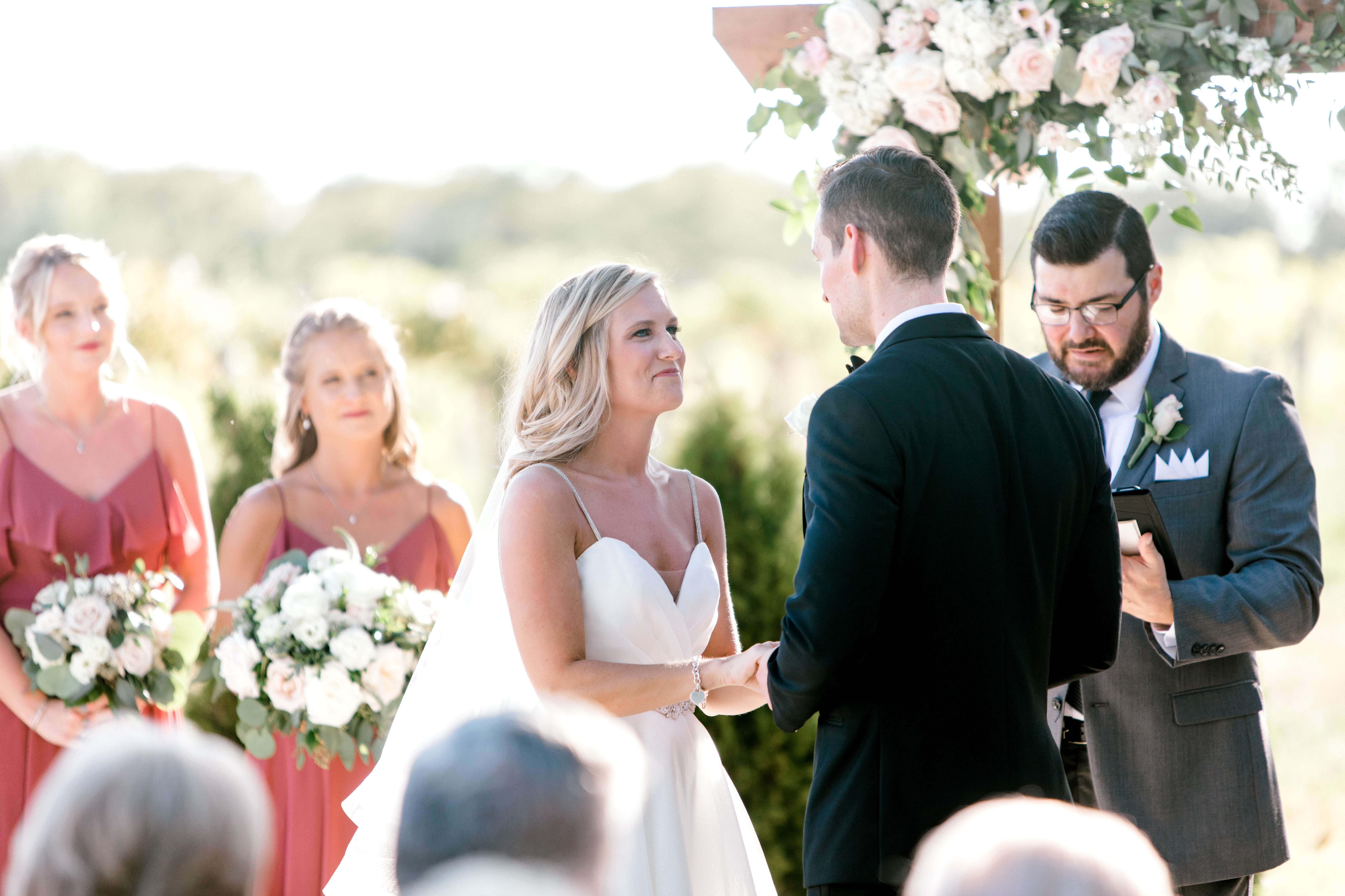 Gorgeous Vineyard Wedding