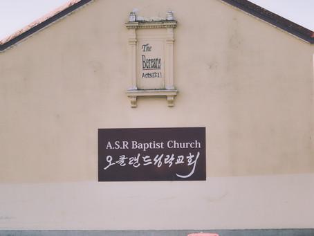ASR BAPTIST CHURCH