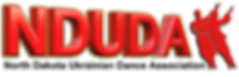 North Dakota Ukrainan Dance Association NDUDA Logo
