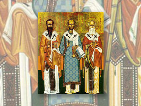 The Three Holy Hierarchs of the Eastern Church