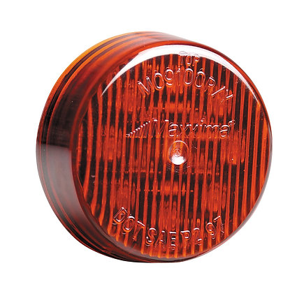 "Maxxima M09100R Red 2"" Round Marker Light"