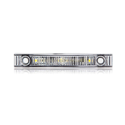 Maxxima M20341WCL White Super Thin Profile LED Interior Courtesy Light with Clea