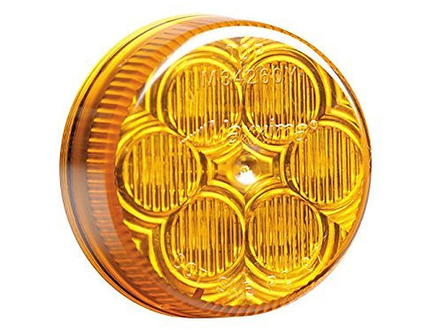 """Maxxima M34260Y Amber 2"""" Round LED Clearance Marker Light by Maxxima"""