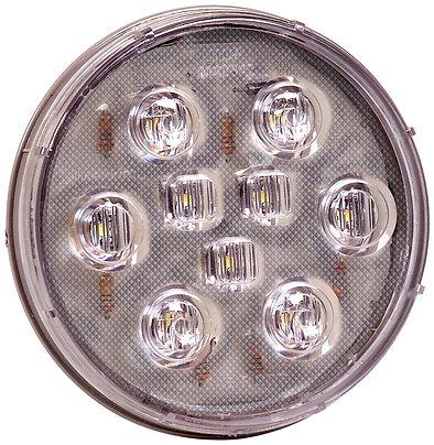 """Maxxima M42347 White 4"""" Round LED Backup Light"""