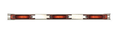 Maxxima M20343R Red Stainless Steel Light Bar with M20340R LED Light
