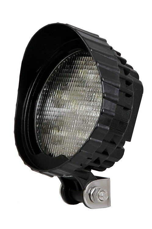 "Maxxima MWL-01B 6 LED 5"" Round Heavy Duty Super Bright Work Light 550 Lumens"