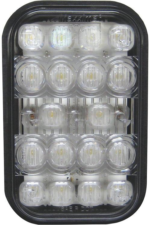 "Maxxima M42213 White 5"" Rectangular Backup Light"