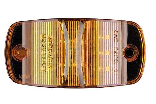 """Maxxima M23015Y Amber 4"""" Combination Marker Light"""