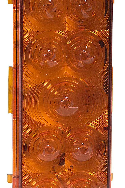 """Maxxima M63339Y Amber 6"""" Oval ParkRear Light"""