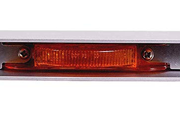 Maxxima M20343Y Amber Stainless Steel Light Bar with M20340Y LED Light