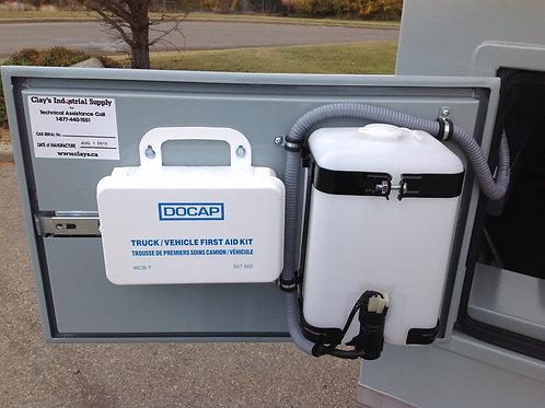 Cab Water Fill Tank