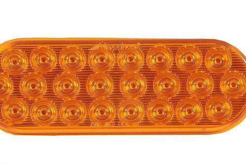 "Maxxima M63201Y Amber 6"" Oval LED Warning Flasher Light"