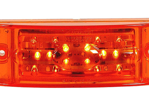 "Maxxima M20395Y Amber 2"" x 6"" Super Bright LED Combination Clearance Marker Ligh"