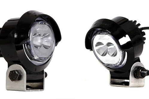 "Maxxima MWL-10SP-SM 2"" Round Swivel-Mount Mini LED Work Light"
