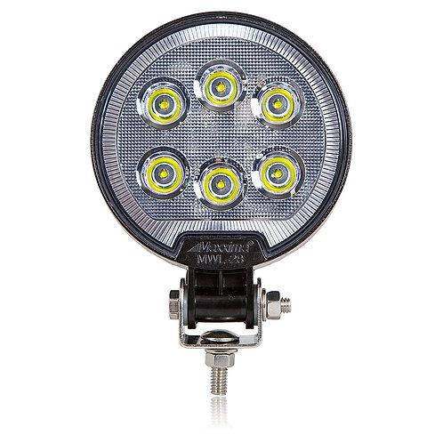 Maxxima MWL-28 6 LED Round Work Light 1,200 Lumens