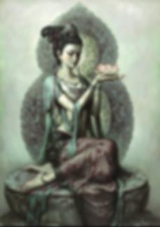 Divine Feminine Goddess Kuan Yin