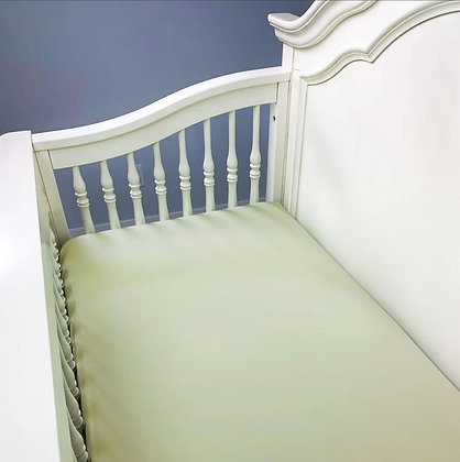 Panda Baby Bamboo Crib Sheet -Rayon from Bamboo/Viscose