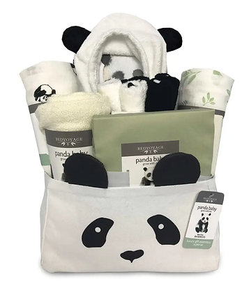 Panda Baby Gift Essentials, 14pc - Rayon from Bamboo/Viscose