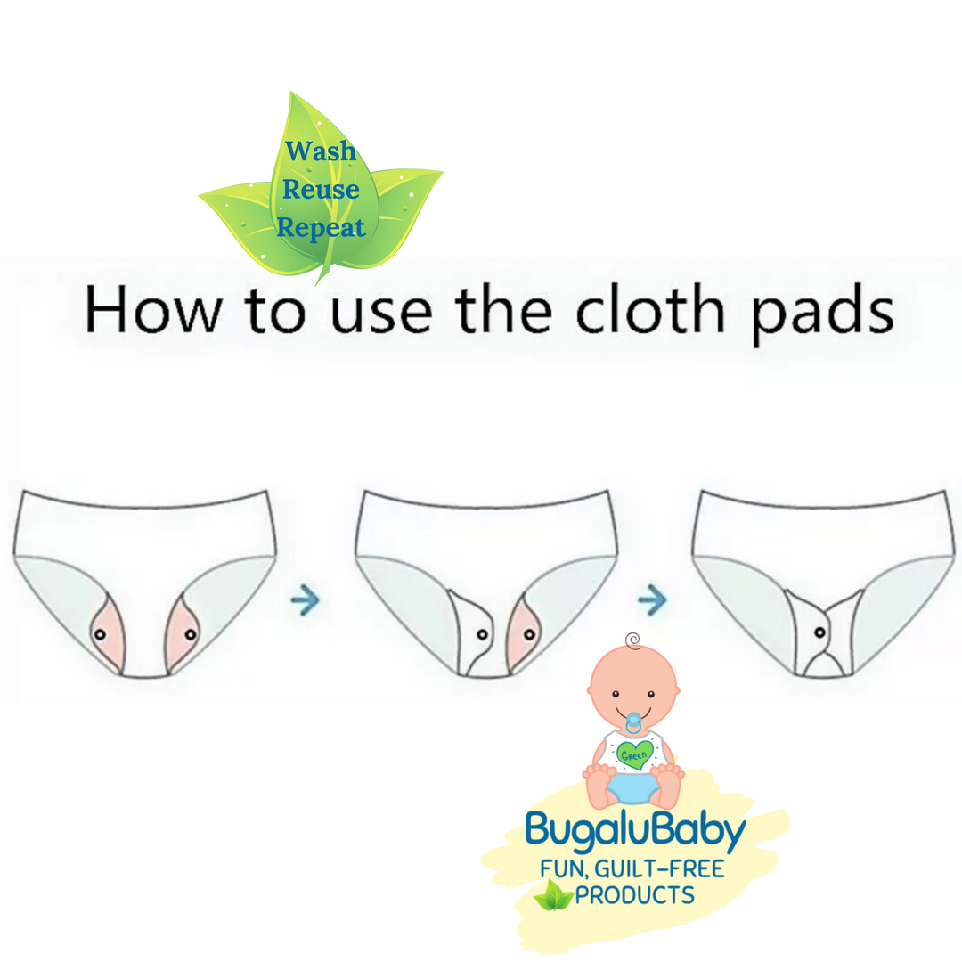 How to Use Cloth Pads