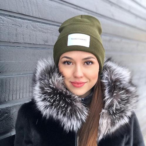 Nuuk Couture logo beanie