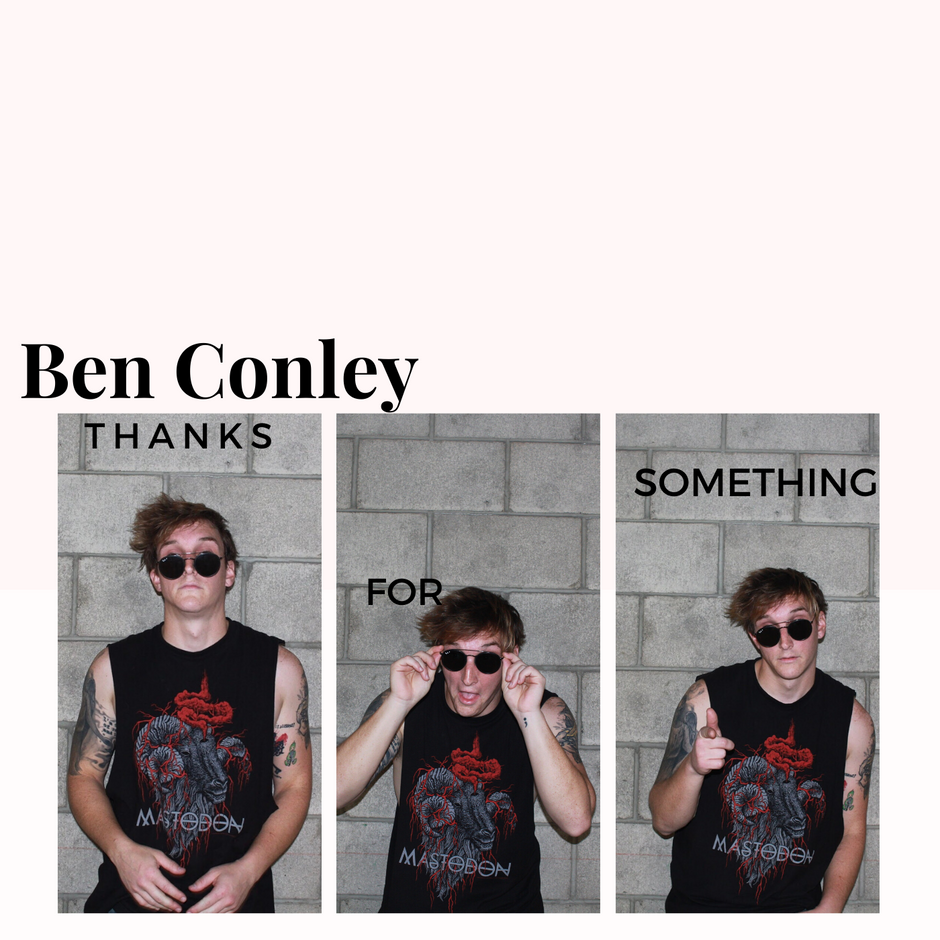 Now Hear This: Thanks For Something (single) - Ben Conley