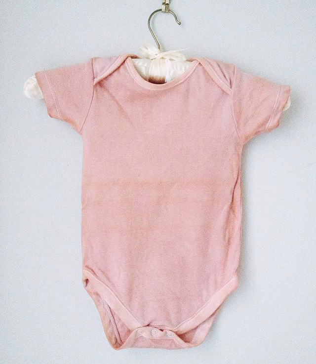 natural dyed body suit