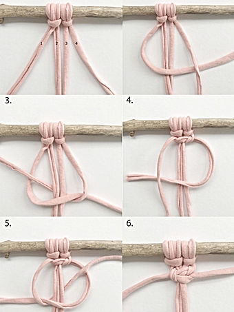 SQUARE KNOT TUTORIAL