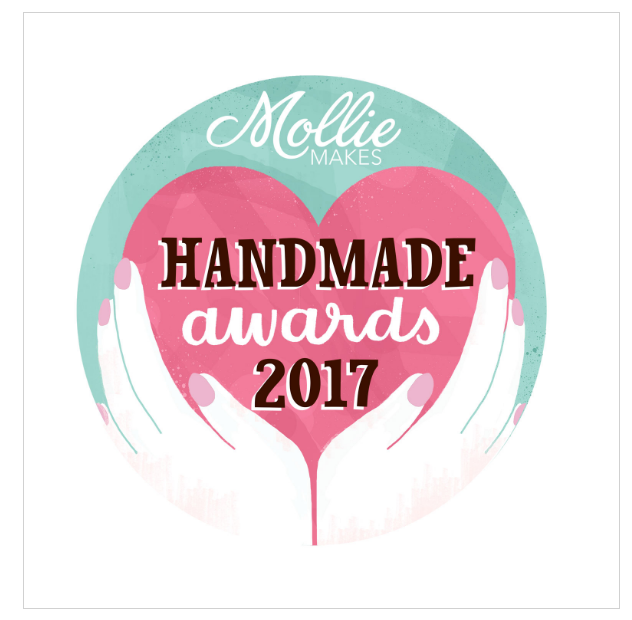 mollie makes hand made award 2017 logo