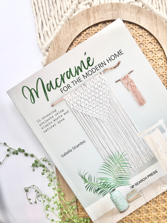 'Macrame for the modern home'- the journey behind the book