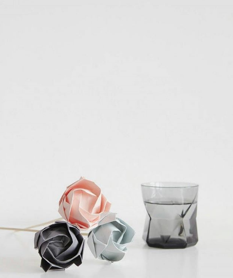 origami flowers by Origami Est